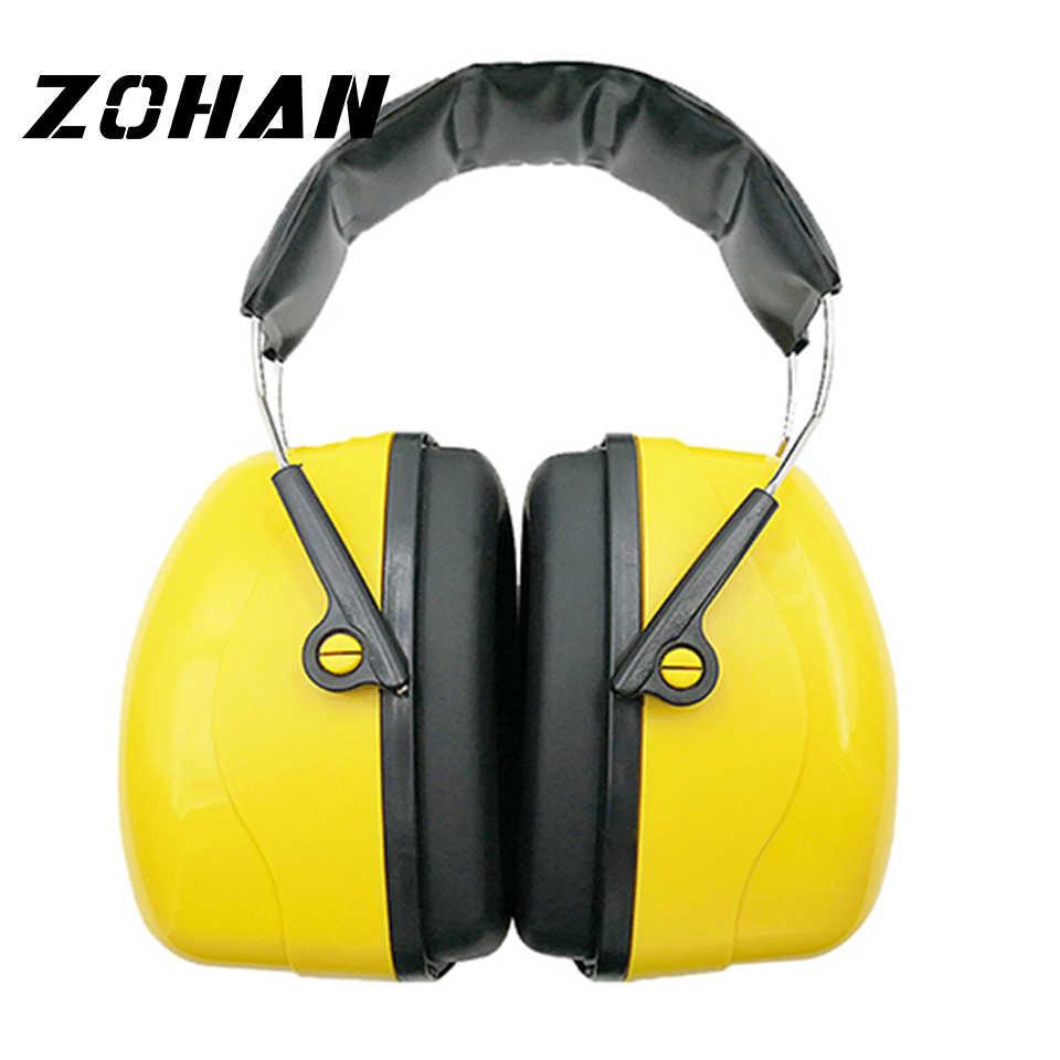 ZOHAN 소음 감소 안전 귀마개 저격수 청력 보호 귀마개 조정 가능한 슈팅 귀 보호기 청력 보호 장치