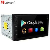 Junsun Car DVD 2 Din Radio GPS 7 Inch 1024 600 Android 6 0 Quad Core