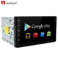 Junsun Car DVD 2 Din Radio GPS 7 Inch 1024 600 Android 6 0 Quad Core