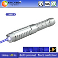 High Power 1W Blue Laser Pointer 1000mw Powerful Military Burning Laser Pointers for Sale with 16340 Batteries Metal Box 5 Heads