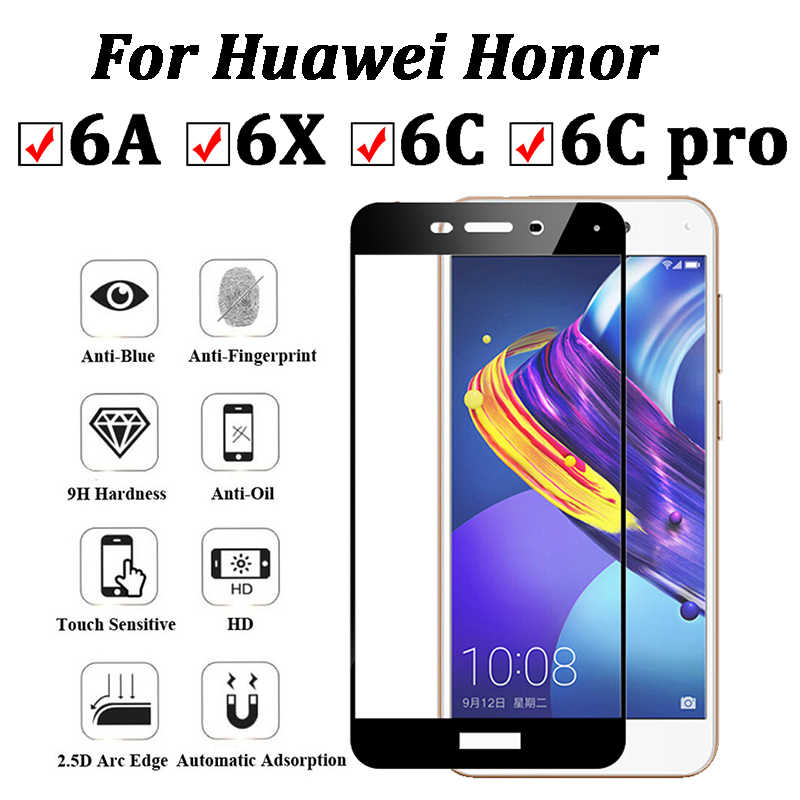 Protective Glass For Huawei Honor 6a 6x 6C Pro 6 X A X6 A6 C6 Tempered Glas Screen Protector On Honor6A Honor6x HD Cover Film
