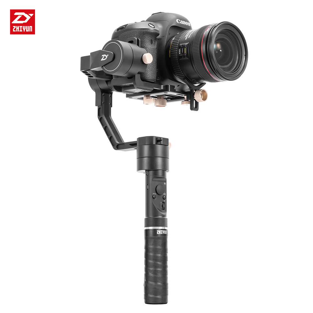 zhi yun Zhiyun Official Crane Plus 3-Axis Handheld Gimbal Stabilizer for Mirrorless DSLR Camera Support  2.5KG POV Mode bestablecam h4 rtf brushless handheld encoder mirrorless digital camera gimbal gyro stabilizer for gh3 gh4 a7s nex5 bmpcc