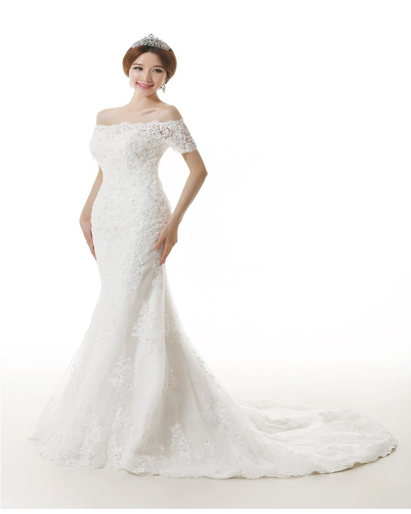 Fishtail Wedding Gowns: Popular Fishtail Wedding Gowns-Buy Cheap Fishtail Wedding