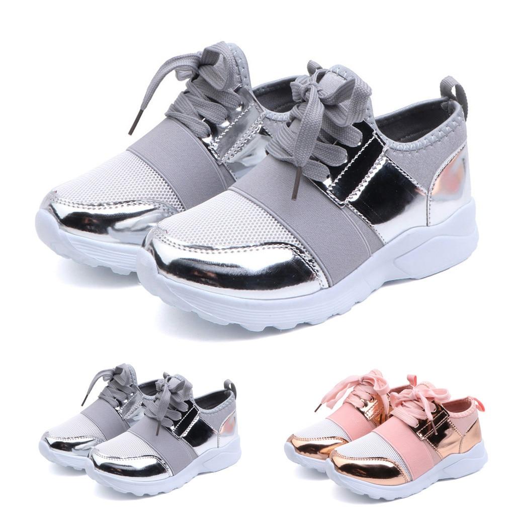 Kids Baby Boys Girls Mesh Running Shoes Toddler Sandals Casual Walking Sneakers