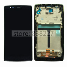 Black LCD Display Digitizer For LG G H955 original LCD Touch Screen Digitizer + front Frame For LG G Flex 2 LS996 H955A LG614