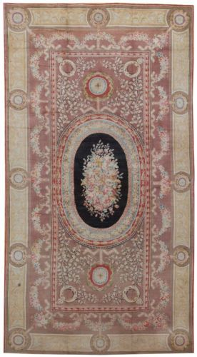 2014 Sale Alfombras Carpet Tapete Details About 12 X 22 Oversize Antique Repro Thick Plush French Savonnerie Rug Made To Order