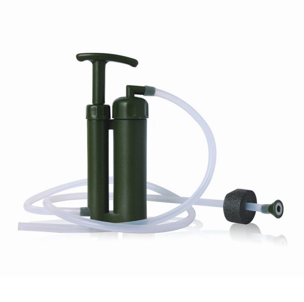 High Quality Outdoor Survival Water Purifier Portable Water Filter Camping Straight Drink Adventure Necessary Survival Equipment