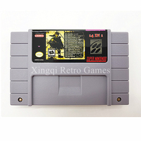 Super Nintendo SFC SNES 14 In 1 Video Game AM03 Cartridge Console Card US NTSC Version