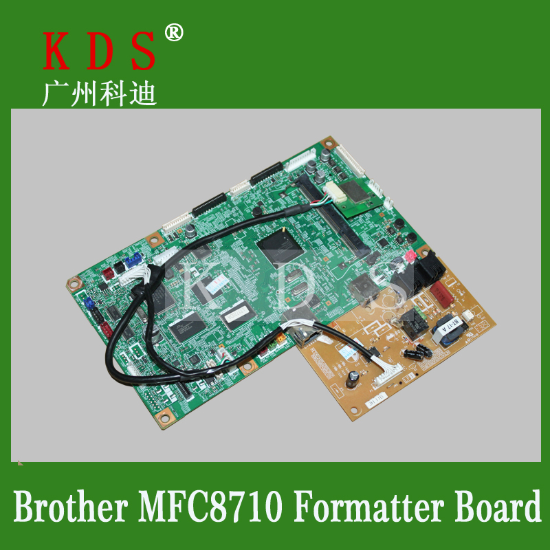 Laserjet Printer Formatter Board For Brother MFC-8710 Motherboard Used Pre-tested Logic Board brand new printer spare parts logic board laserjet for hp175nw 175n 175a formatter board main board