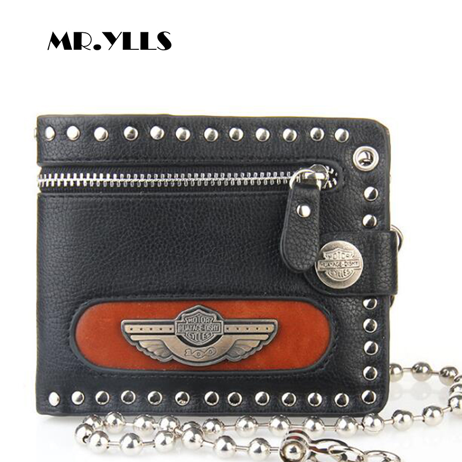 MR.YLLS Vintage Wallet Men Short Wallets Brand Card Holder Small Fashion Purses 2018 New High Quality Design With Coin Zipper italian style fashion men s jeans shorts high quality vintage retro designer classical short ripped jeans brand denim shorts men