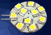 LED G4 light;10pcs 5050 SMD LED;2W;DC12V input