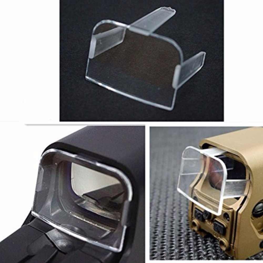 Jacht Tactical Airsoft Scope Rood Groen Dot Sight Lens Beschermende Holo sight Cover Nieuwe Collectie