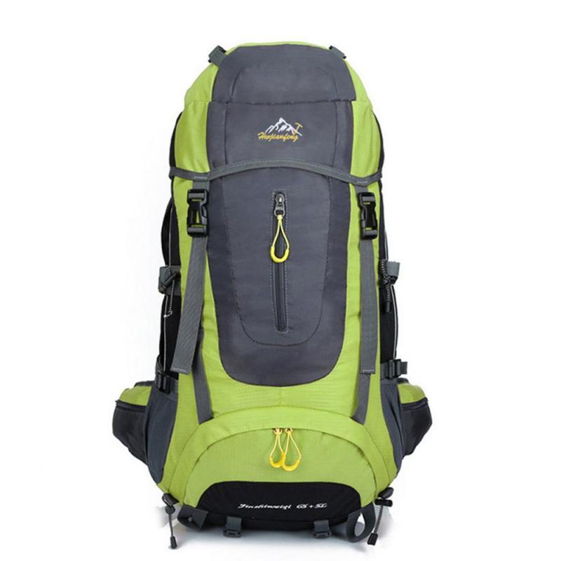 все цены на Waterproof Oxford Mountaineering Backpack Knapsack Professional Bag for Men Women Travel Rucksack Backpacks Large Capacity Y3 онлайн