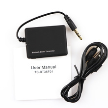 Mini 3.5mm Bluetooth Transmitter Portable Audio Transmitter Receiver A2DP Stereo Dongle Adapter for iPod TV Mp3 Mp4 PC