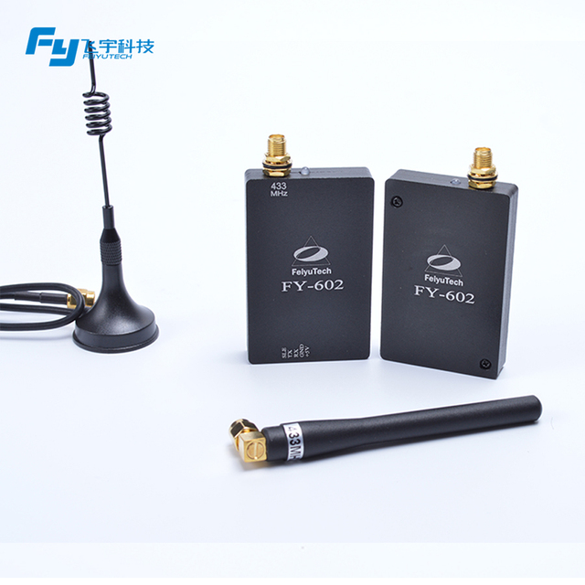 FeiyuTech official store ! FY-602 Data Radio Control 10Km distance for real time telemetry & GCS (Ground Station Edition)