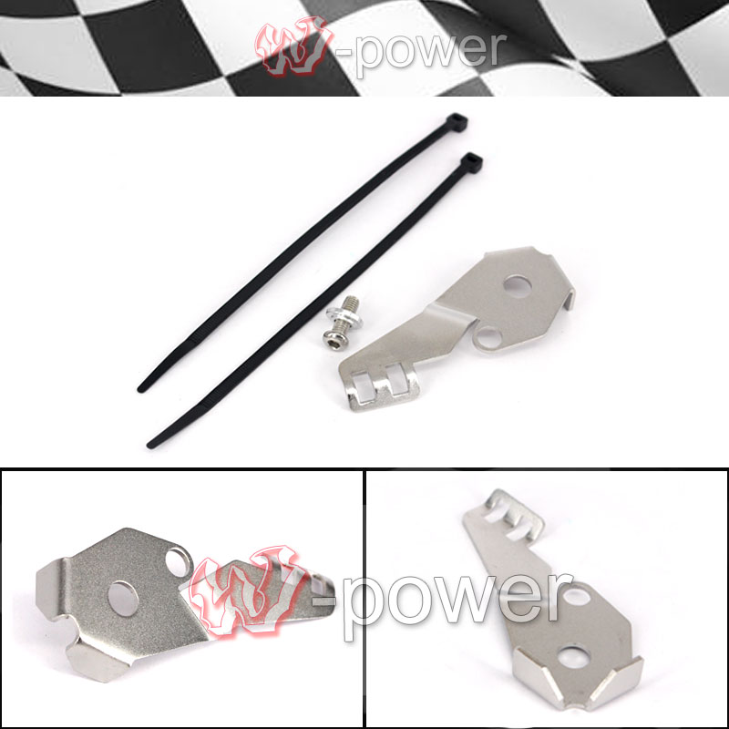 Motorcycle StainlessSteel Side Stand SideStand Switch Protective Cover Fit Fite For BMW R1200GS LC 2014 2015