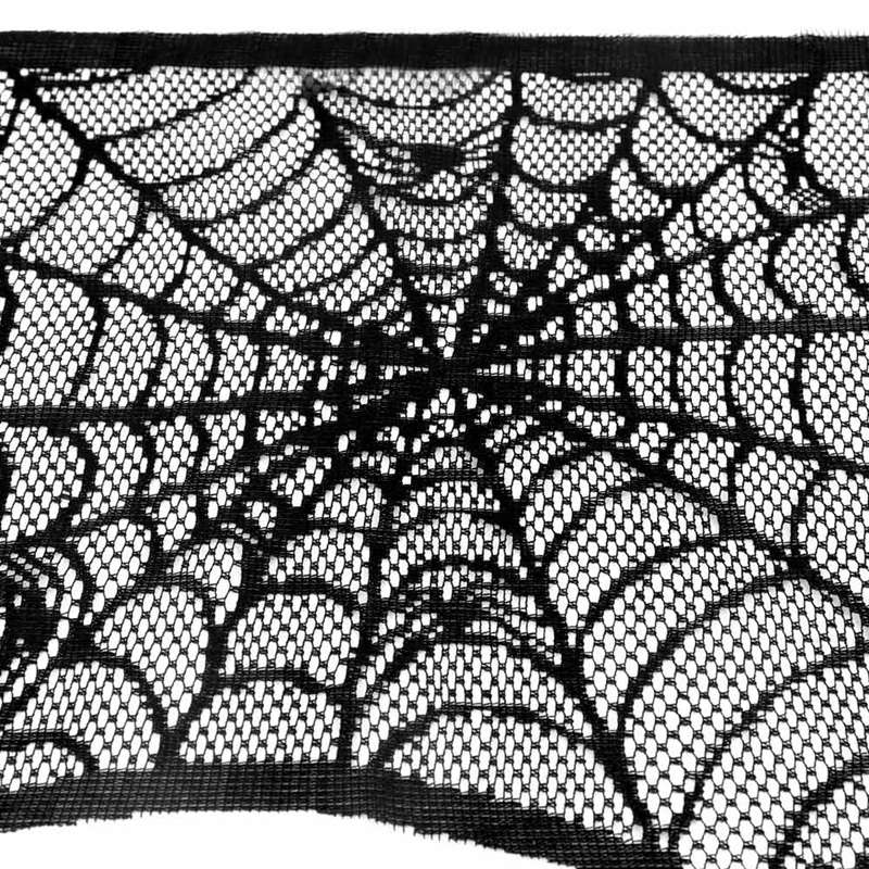 Cobweb Fireplace Scarf (2)