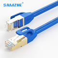 SAMZHE Ethernet Via Cavo cat7 RJ45 cat 7 Patch Cord lan della Rete via cavo ad alta velocità 10 gbps 1 m 2 m 3 m 5 m 8 m 10 m 15 m 20 m 30 m 40 m 50 m