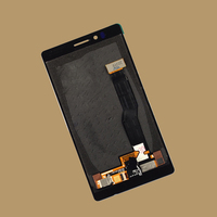 For Nokia Lumia 925 N925 Black Full Touch Screen Digitizer Sensor Panel Glass + LCD Display Panel Screen Module Monitor Assembly