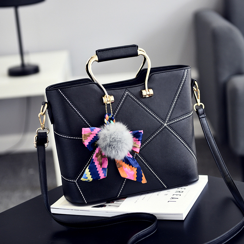2017 New Women Bags Handbags Ladies Top-handle Bag  High Quality PU Leather Shoulder Crossbody Bag Fashion Tote Bag With Scarf fashion women handbags with two straps high quality pu leather top handle tote bag female large capacity shoulder messenger bags