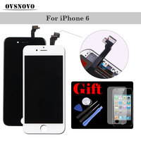 Black White LCD Display Touch Screen For IPhone 6 LCDS Panel Assembly Digitizer Replacement AAAA With