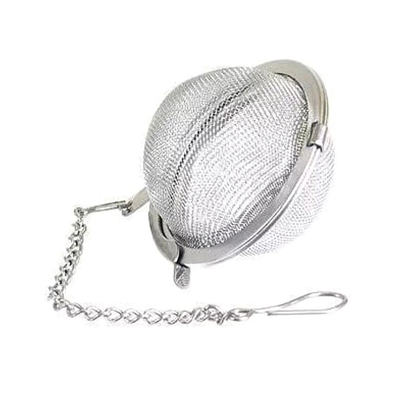 Stainless Steel Tea Strainer Tea Ball Spice Mesh Herbal Ball Cooking Tools Kitchen AccessoriesStainless Steel Tea Strainer Tea Ball Spice Mesh Herbal Ball Cooking Tools Kitchen Accessories