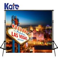 Kate 5x7ft Las Vegas Photography Background Seamless Night City View Photo Backdrop Fotostudio Achtergrond Studio Fond Photos