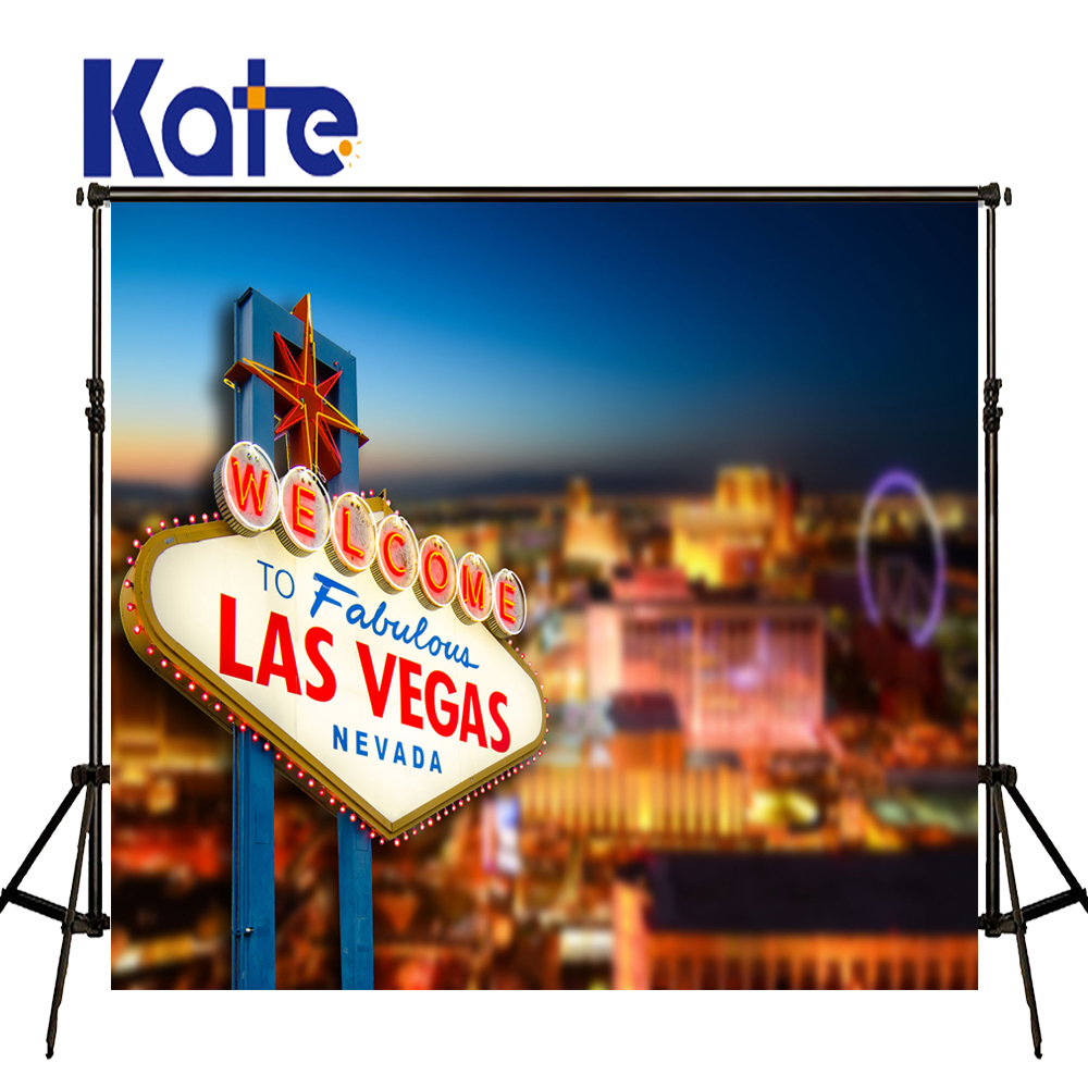 Kate 5x7ft Las Vegas photographie Fond sans couture nuit ville vue Photo toile de Fond Fotostudio Achtergrond Studio Fond Photos