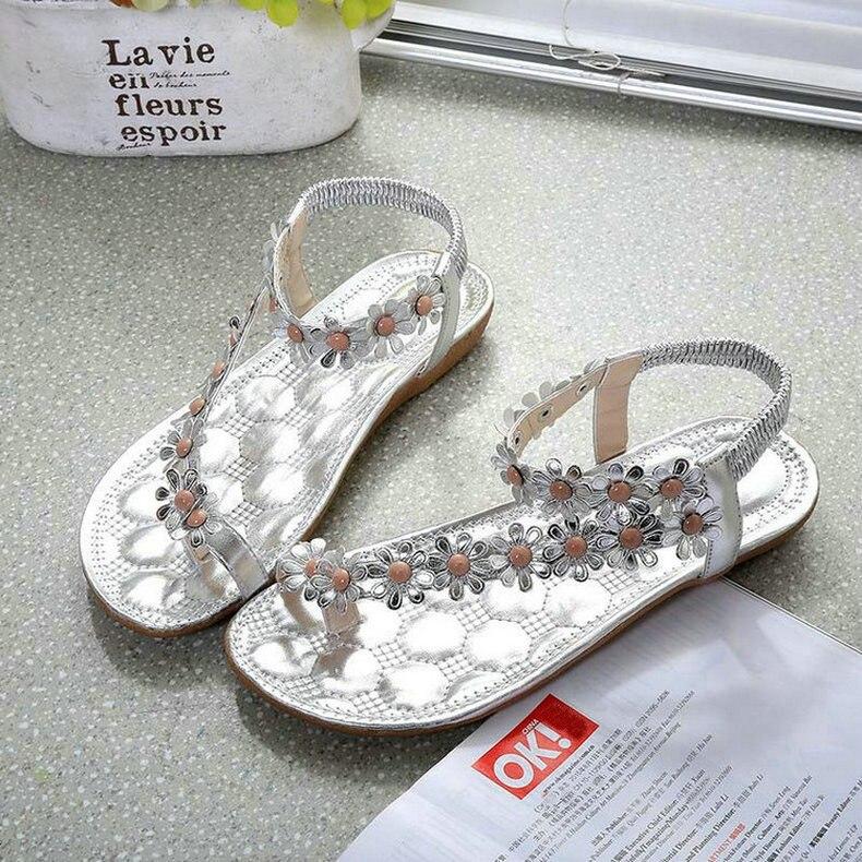 3144d523b6aa QUANZIXUAN Women Sandals Flower Shoes Woman Flip Flops Fashion ...
