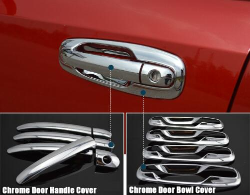 Exterior Car Door Handle Covers For Buick Chevrolet Lacetti Optra Daewoo Nubira Suzuki Forenza Holden Chrome Sticker Accessories excellent 4pcs set chrome plated door handle covers car sticker for volkswagen vw sagitar car styling door handle chrome sticker