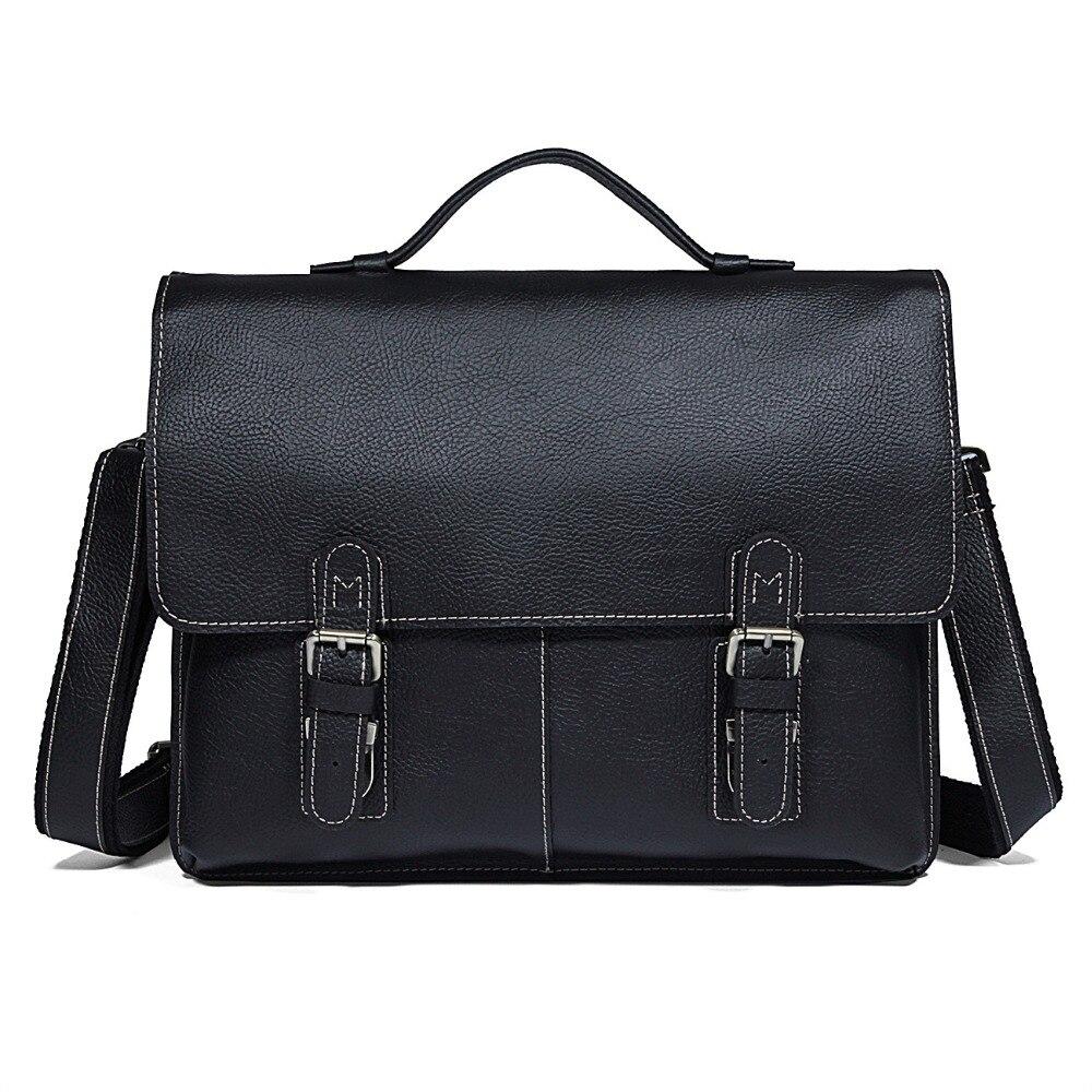 J.M.D 100% garantie porte-documents en cuir véritable sac à main pour homme pochette d'ordinateur 7090A