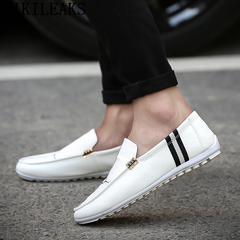 Designer Shoes Mens Loafers High-Quality Luxury Brand Zapatos-De-Hombre Hot-Sale