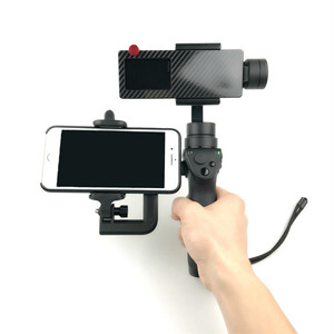 Image 5 - 1.97 3.35 inch Extending Cell Phone Mount Holder for DJI OSMO Mobile 1 Handhold Gimbal Stabilizer Portable Monitor Mount Stand