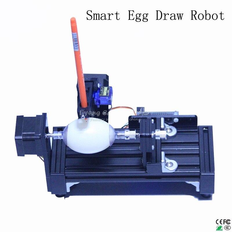 LY taille normale eggdraw eggbot Oeuf-dessin robot tirage machine Sphères dessin machine dessin sur l'oeuf et balle