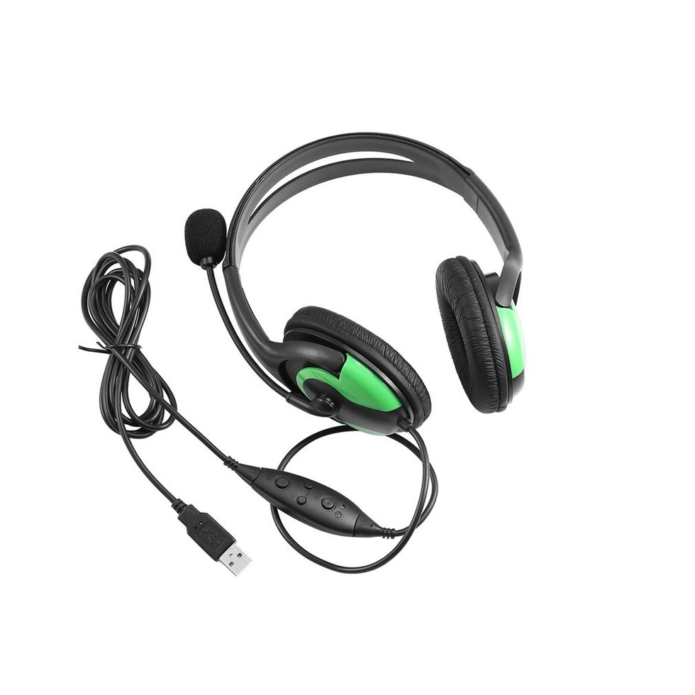 5PCS New Wired Headset Headphone Earphone Microphone For PS3 Gaming PC Chat oem 5pcs ps3 400aaa for ps3