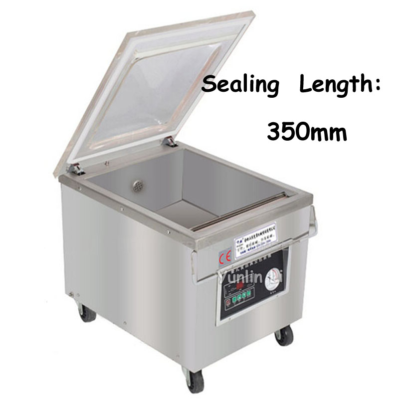 Desktop Automatic Vacuum Packing and Sealing Machine Electric Tablet Food Sealer in High Quality DZ-350 high quality best price vacuum packing machine vacuum food fruit vegetable sealer