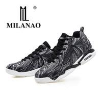 2017 MILANAO Men Women Basketball Shoes Colorful Basketball Shoes For Men Lace Up Basketball Shoes Big