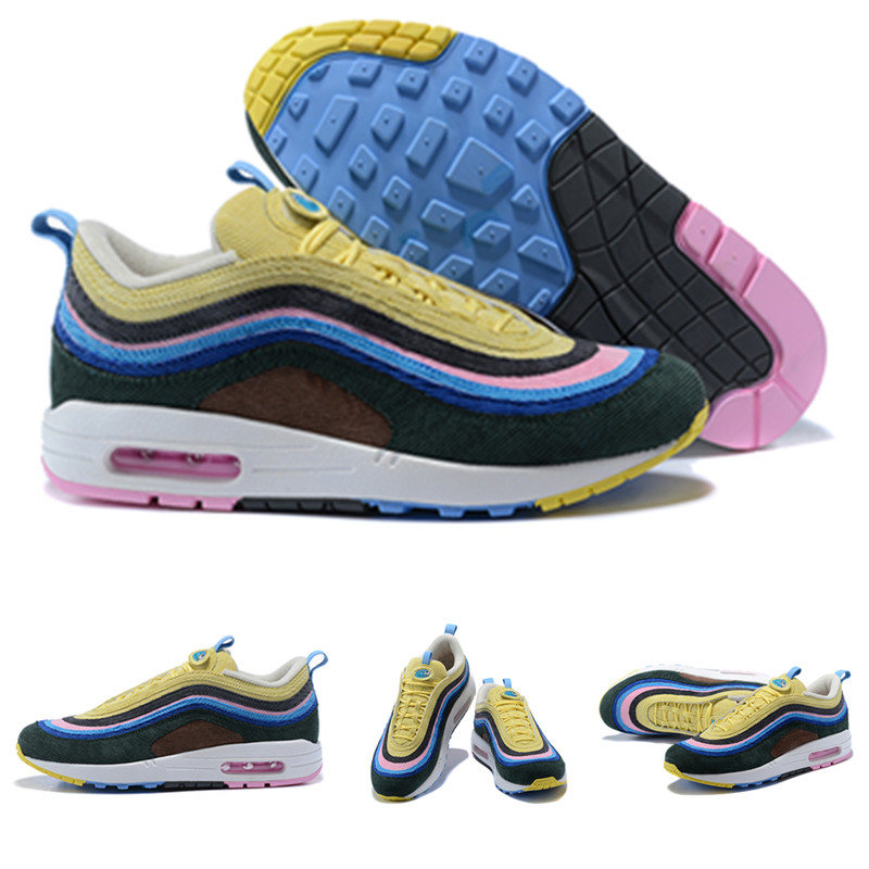 Nike Air Max 1//97 Sean Wotherspoon SW Sneaker Shoe Keychain AJ4219-400