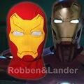 Rib Fabrics Iron Man Masks Cotton Captain America 3 Civil War Halloween Cosplay Costume X-men Hats Balaclava Full Face Mask