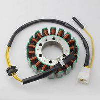Motorcycle Generator Magneto Stator Coil For Honda CN250 HELIX 250 1986 2007 CF250 HELIX 250cc Scooter Moped 18 Pole Stator