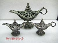 Collectible Genie Oil Lamp 1pc 15cm Genie Oil In 12cm 2pcs Russian Tea Pot Al Addin