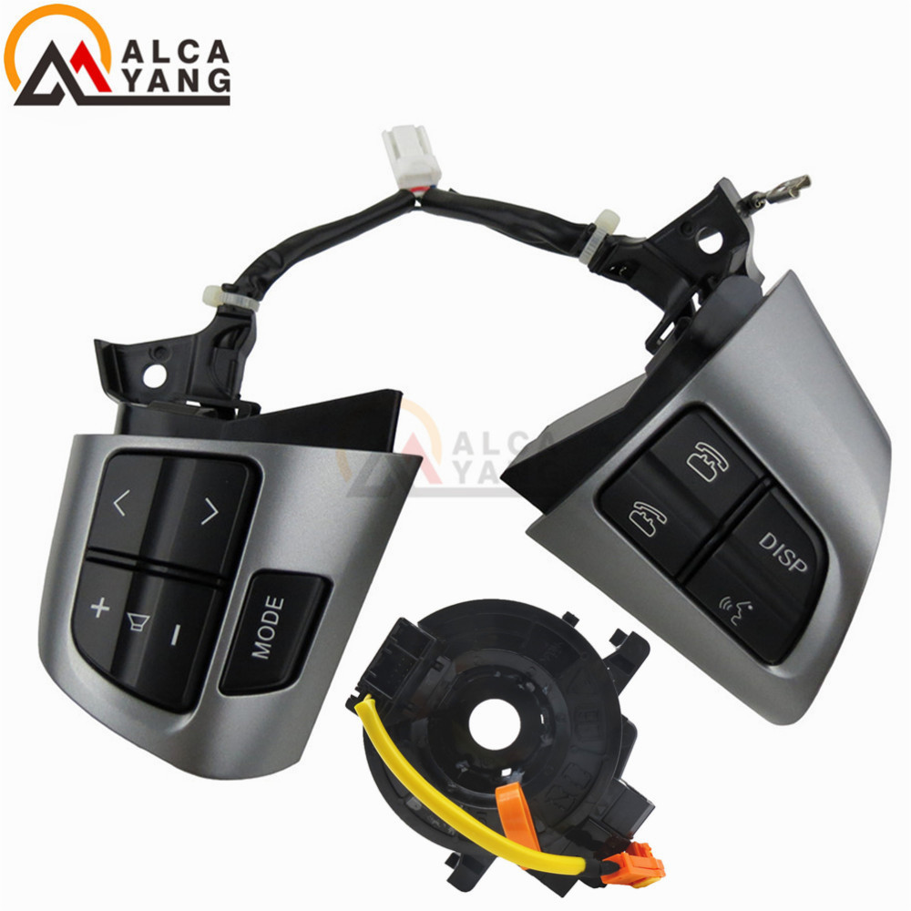 Premier Quality Steering Wheel Switches buttons for Toyota Corolla / Wish / Rav4 / Altis OE Quality-in Car Switches & Relays from Automobiles & Motorcycles