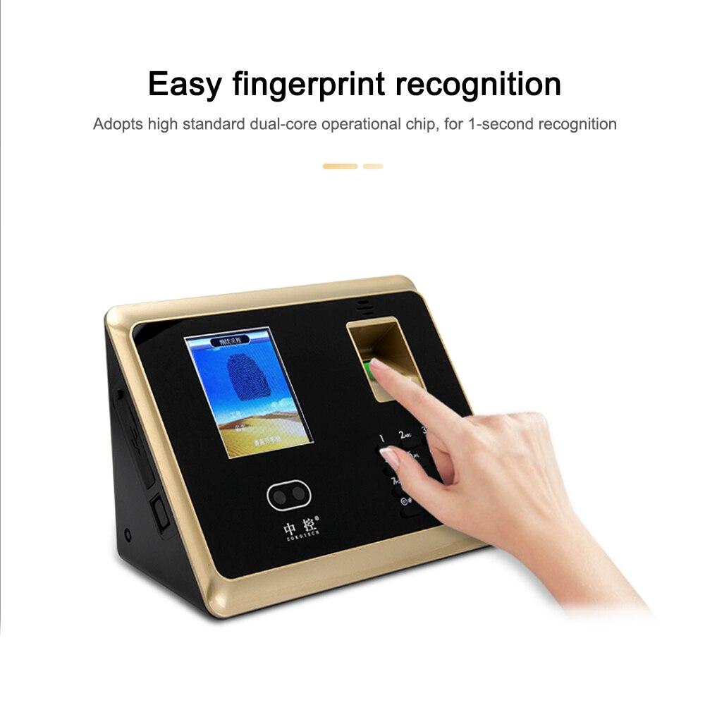Fournitures de bureau visage reconnaissance d'empreintes digitales système de ZK-TA50Control d'accès mot de passe