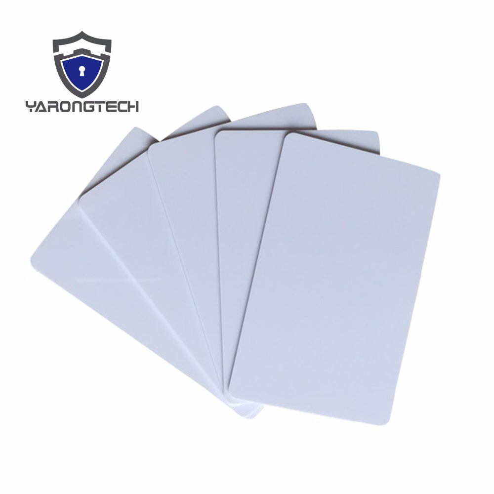 10pcs The Best PVC PLASTIC Blank ID Card Credit Card Thin CR80 Available For Card Printer