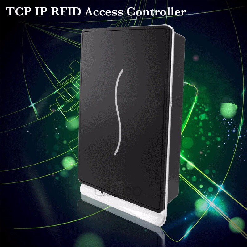 TCP/IP linux operating system ZK scr100 standalone access control with 13.56mhz IC card reader smart card access control system zk iface701 face and rfid card time attendance tcp ip linux system biometric facial door access controller system with battery