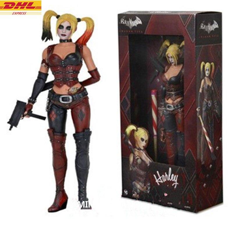 1:4 Justice League Batman: Arkham City Sanaz Ahari Joker Megamind Batman Enemy PVC Action Figure Collectible Model Toy D372