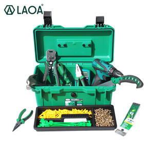 LAOA Case Plastic Toolbox Waterproof-Tool-Kit Shockproof Seal-Box Portable for Two-Layers