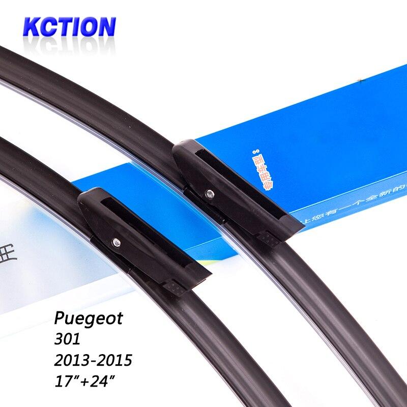 """List stěrače do auta pro Peugeot 301 (2013-2015), 17 """"+24"""", Stěrače čelního skla, Autopříslušenství"""