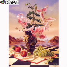 DIAPAI Diamond Painting 5D DIY 100% Full Square/Round Drill Flower landscapeDiamond Embroidery Cross Stitch 3D Decor A23682 diapai 100% full square round drill 5d diy diamond painting flower landscape diamond embroidery cross stitch 3d decor a21095