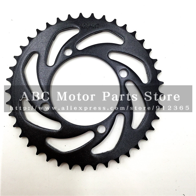 Worldwide delivery 428 rear sprocket in Adapter Of NaBaRa